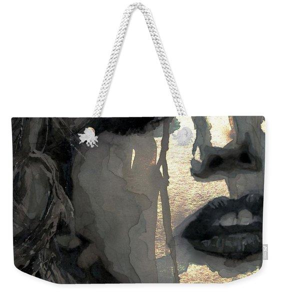 Golden Goddess Weekender Tote Bag
