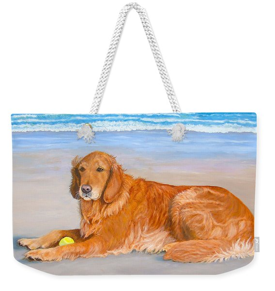 Golden Murphy Weekender Tote Bag
