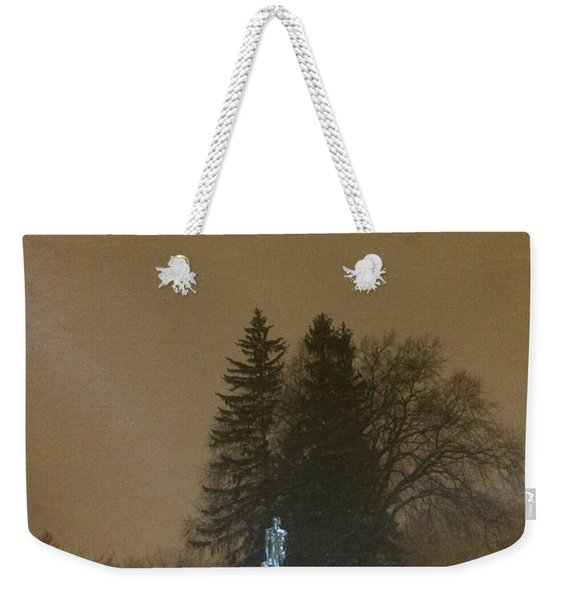 Golden Night Weekender Tote Bag