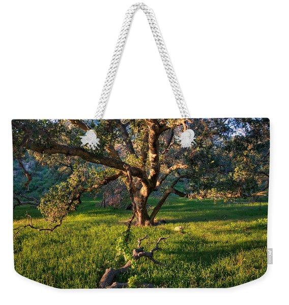 Golden Oak Weekender Tote Bag