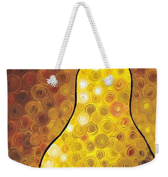 Golden Pear Weekender Tote Bag
