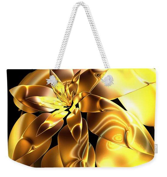 Golden Pineapple By Jammer Weekender Tote Bag