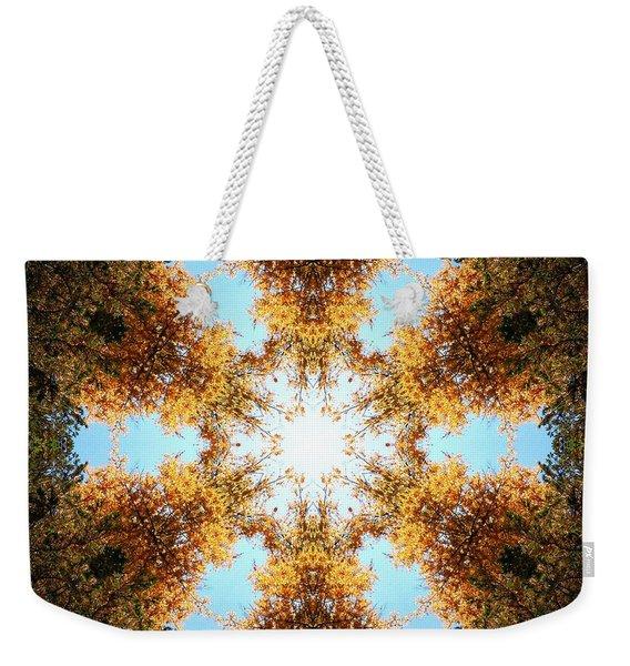 Golden Shimmer K2 Weekender Tote Bag