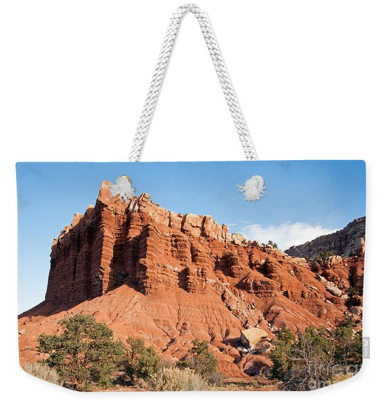 Golden Throne Capitol Reef National Park Weekender Tote Bag