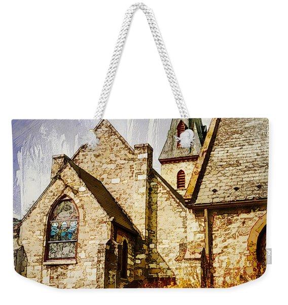 Golden Trinity Weekender Tote Bag