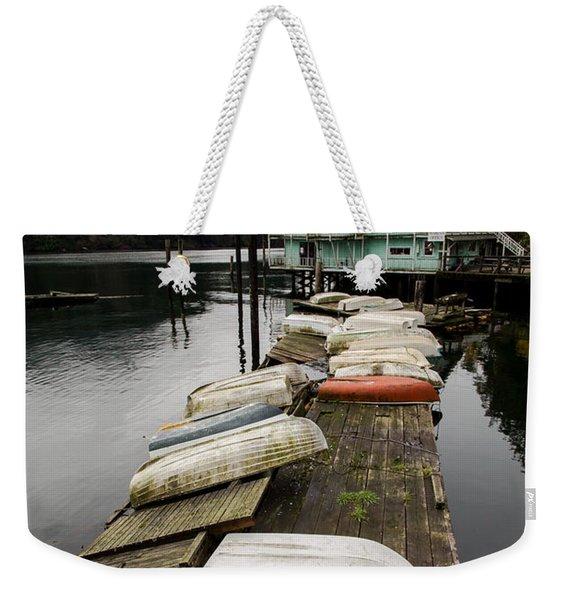 Goldstream Marina Weekender Tote Bag