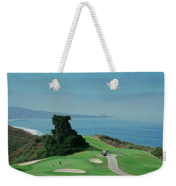 Golf Course At The Coast, Torrey Pines Weekender Tote Bag