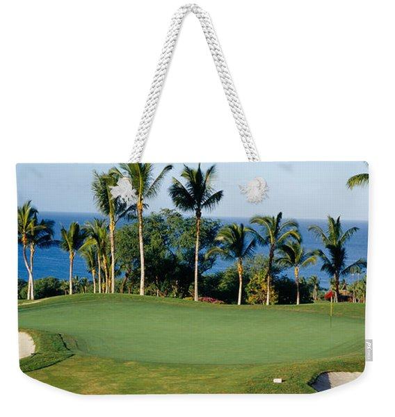 Golf Course Maui Hi Weekender Tote Bag