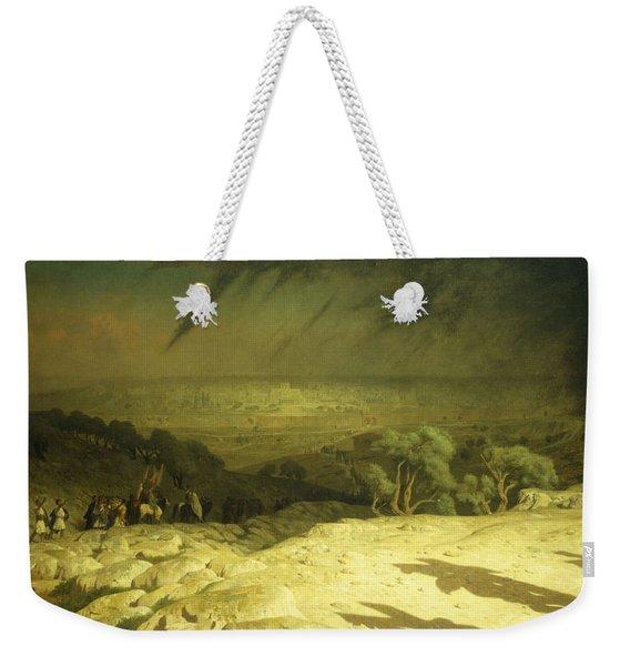 Golgotha Weekender Tote Bag