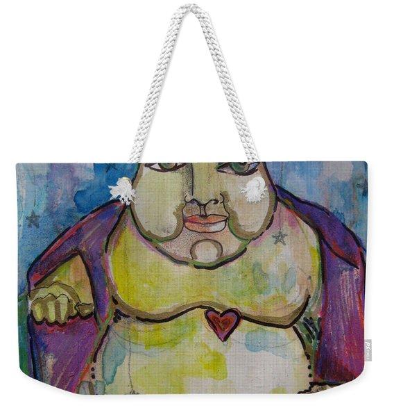Good Luck Buddha Weekender Tote Bag