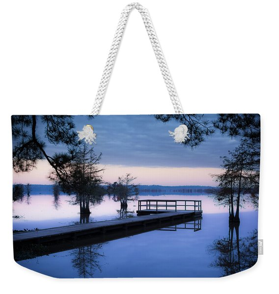 Good Morning For Fishing Weekender Tote Bag