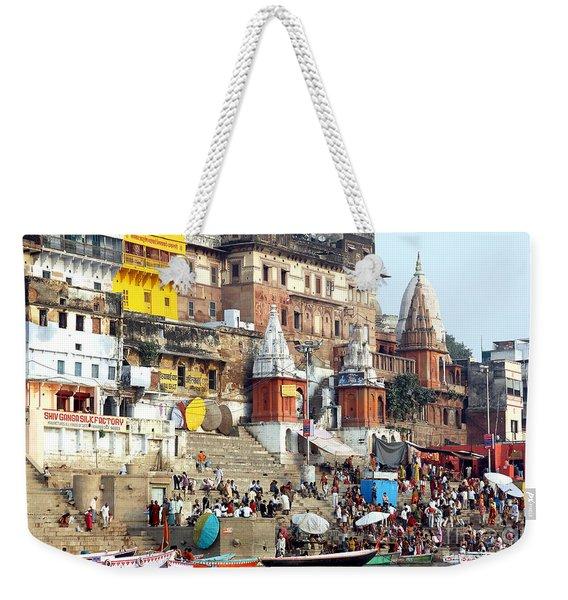 Good Morning Ganga Ji 2 Weekender Tote Bag