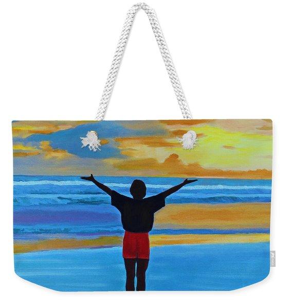 Good Morning Morning Weekender Tote Bag