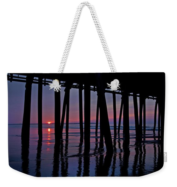 Good Morning Old Orchard Silhouette   Weekender Tote Bag