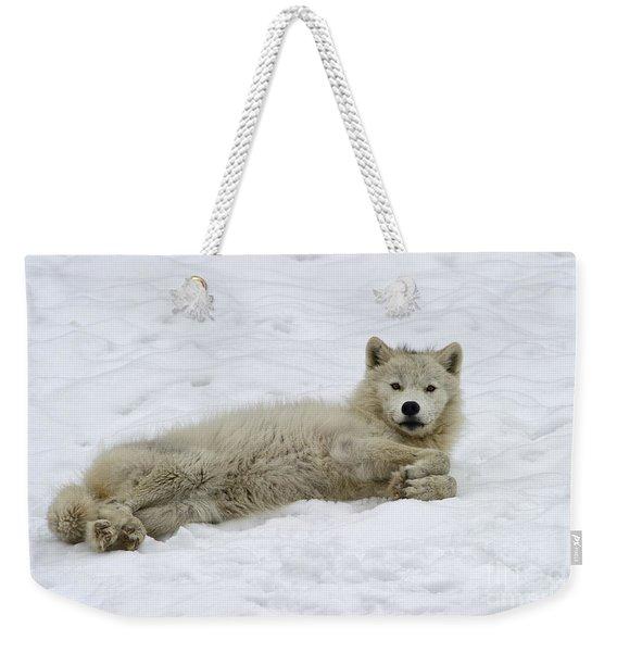Good Wolfie ... Weekender Tote Bag