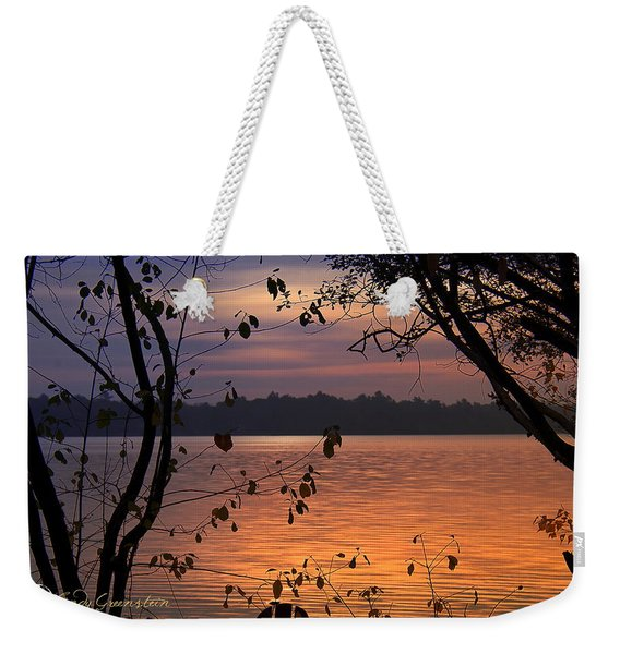 Goodnight Lake Weekender Tote Bag