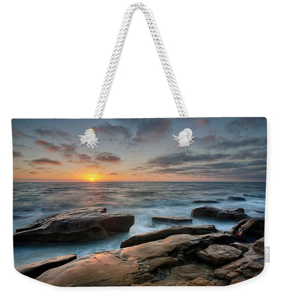 Goodnight Windnsea Weekender Tote Bag