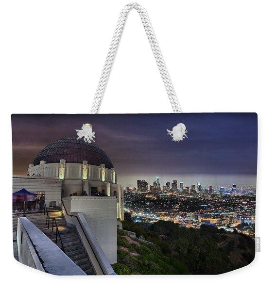 Gotham Griffith Observatory Weekender Tote Bag