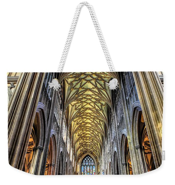 Gothic Architecture Weekender Tote Bag
