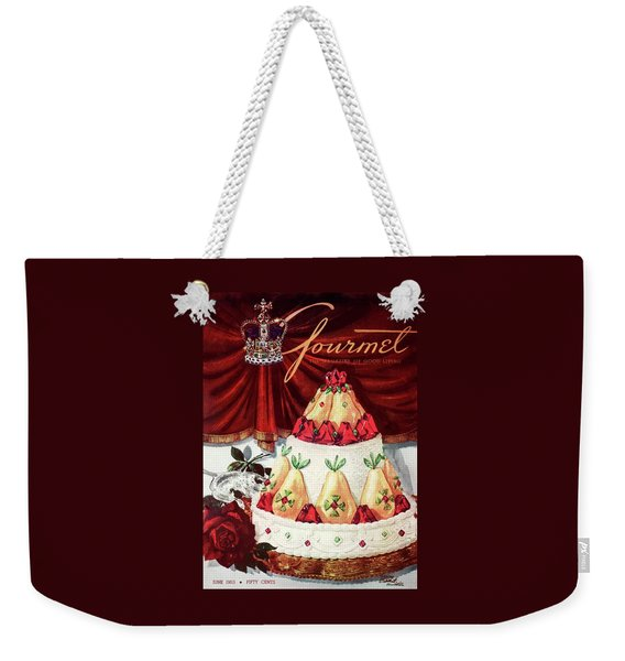 Gourmet Cover Featuring A Cake Weekender Tote Bag
