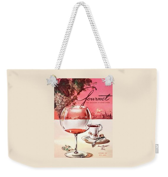 Gourmet Cover Illustration Of A Baccarat Balloon Weekender Tote Bag
