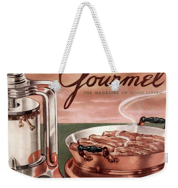 Gourmet Cover Of Pressed Duck Weekender Tote Bag