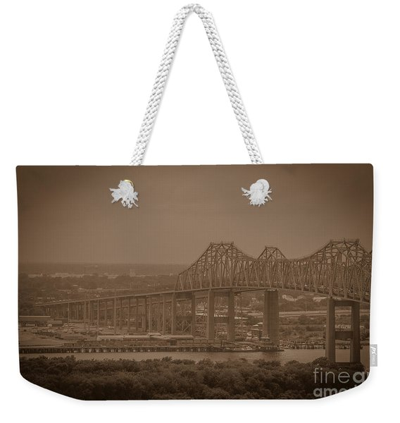 Grace And Pearman Bridges Weekender Tote Bag