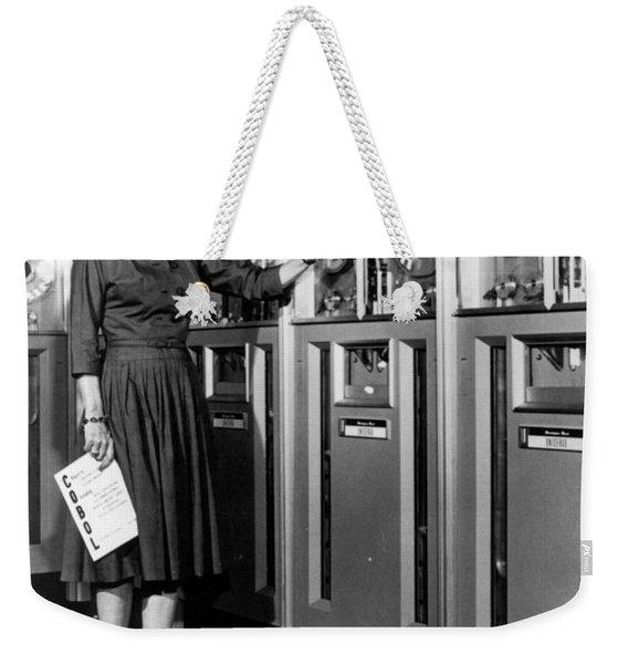 Grace Hopper, American Computer Weekender Tote Bag
