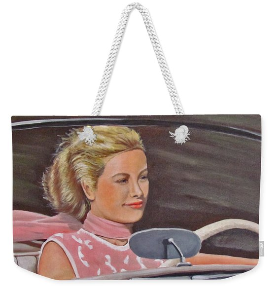 Grace Kelly - To Catch A Thief Weekender Tote Bag