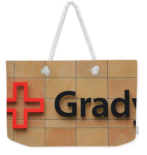 Grady Hospital Atlanta Georgia Art Weekender Tote Bag