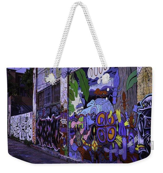 Graffiti Alley San Francisco Weekender Tote Bag