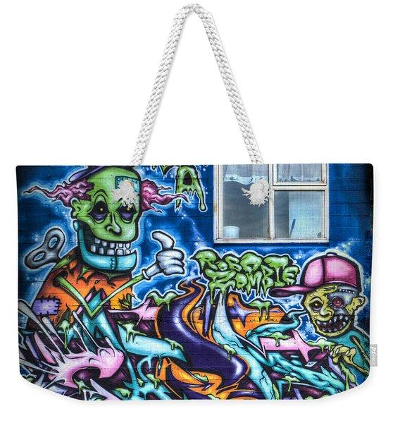Graffiti City Weekender Tote Bag
