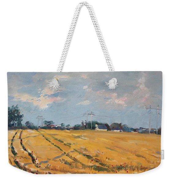 Grain Field Weekender Tote Bag