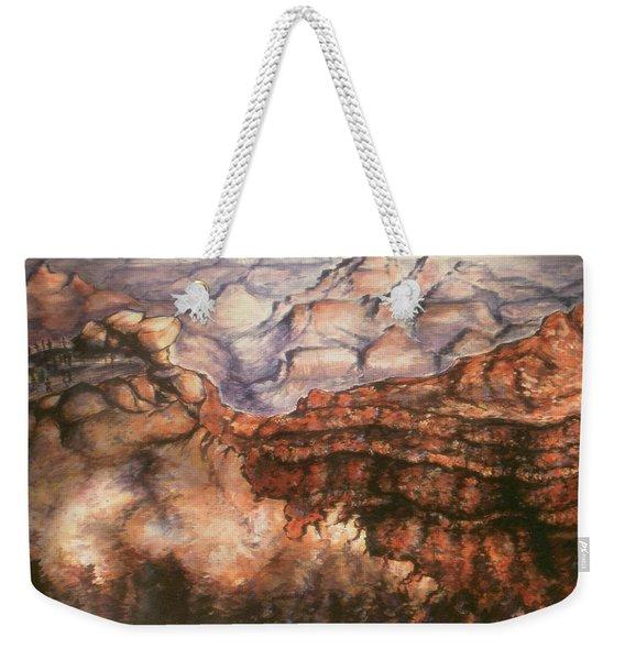 Grand Canyon Arizona - Landscape Art Painting Weekender Tote Bag