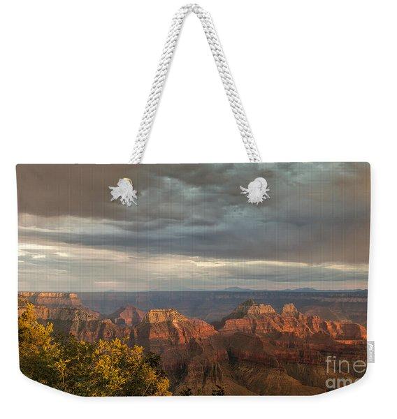 Grand Canyon North Rim Sunset Weekender Tote Bag