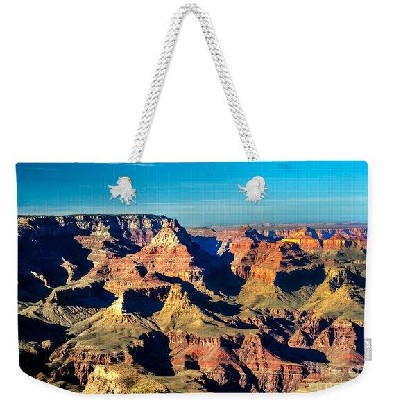 Grand Canyon Shadows Weekender Tote Bag
