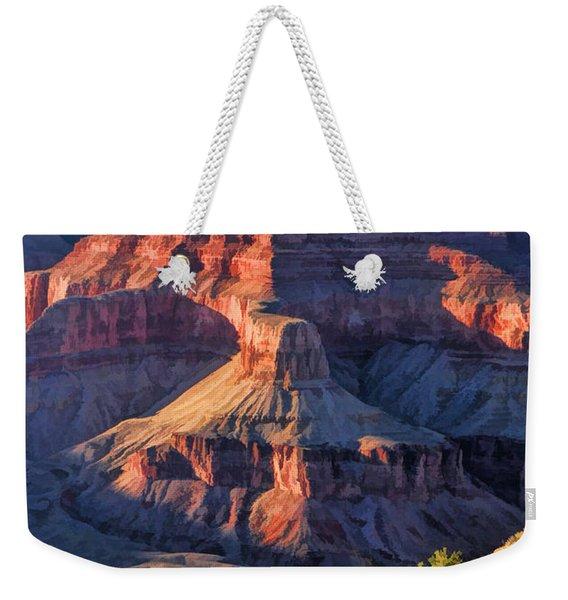 Grand Canyon National Park Sunset Ridge Weekender Tote Bag