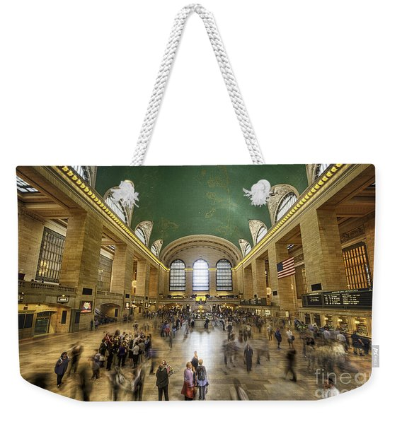 Grand Central Rush Weekender Tote Bag