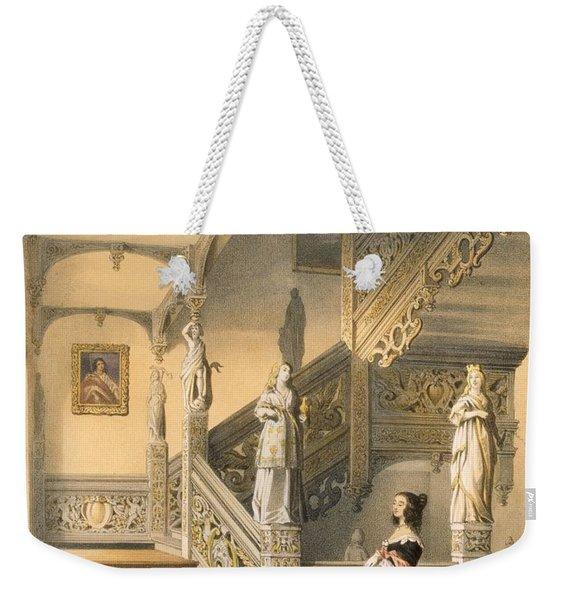Grand Elizabethan Staircase Weekender Tote Bag