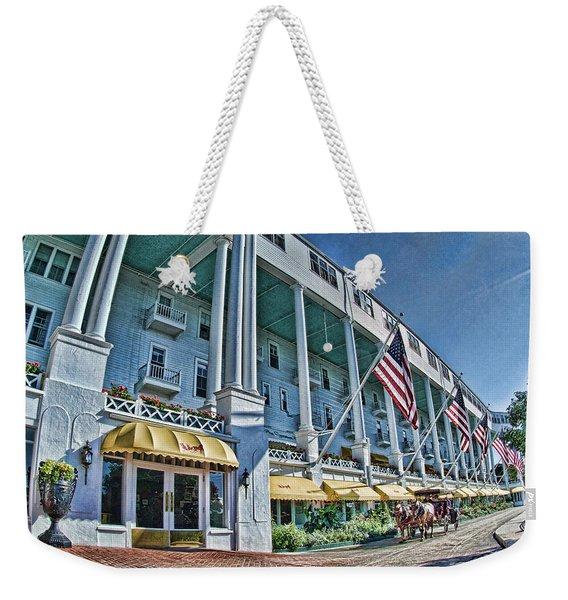 Grand Hotel - Image 001 Weekender Tote Bag