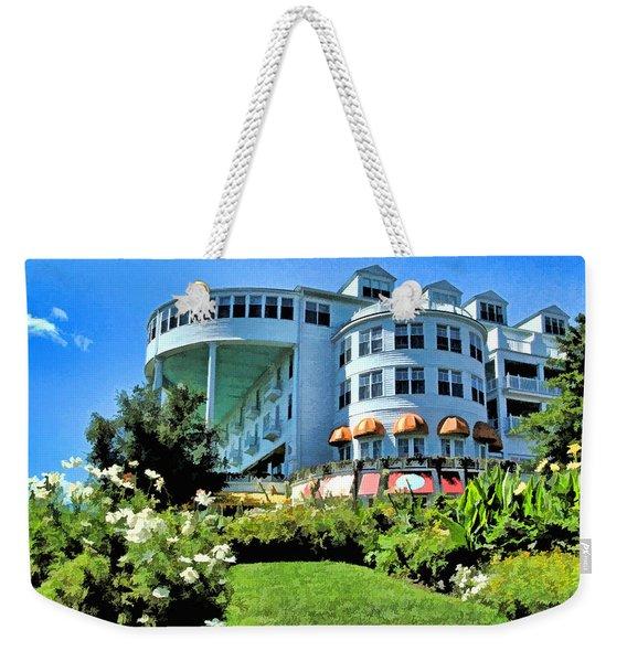 Grand Hotel - Image 002 Weekender Tote Bag