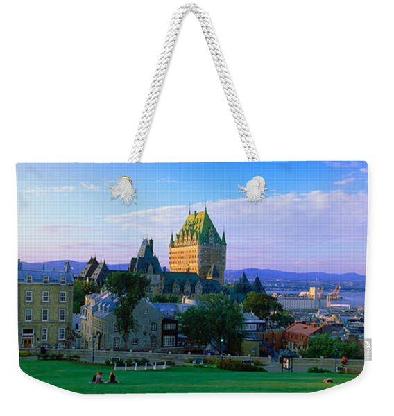 Grand Hotel In A City, Chateau Weekender Tote Bag