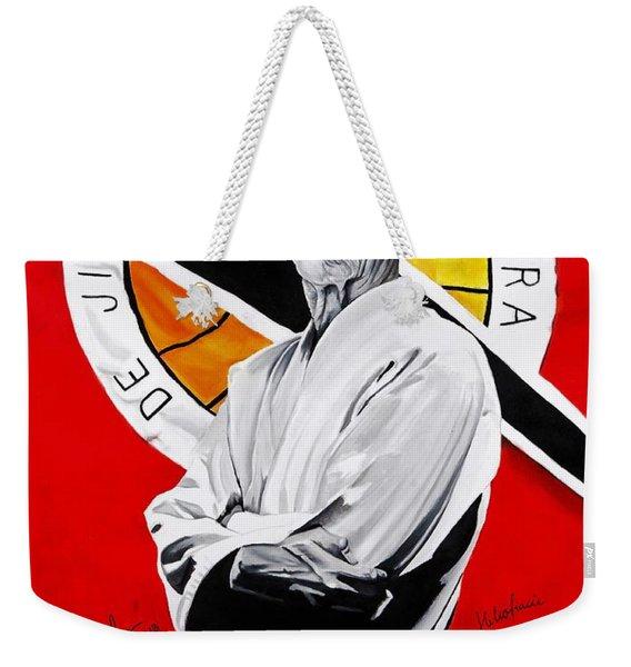 Grand Master Helio Gracie Weekender Tote Bag