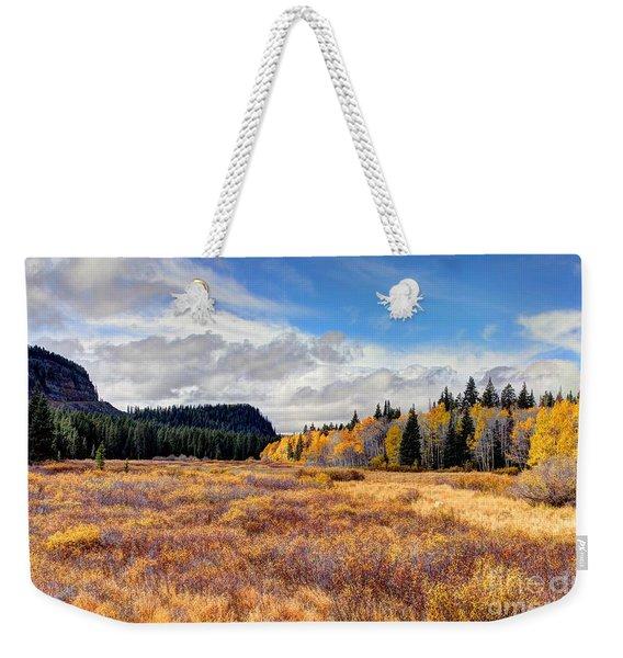 Grand Mesa Colors Weekender Tote Bag