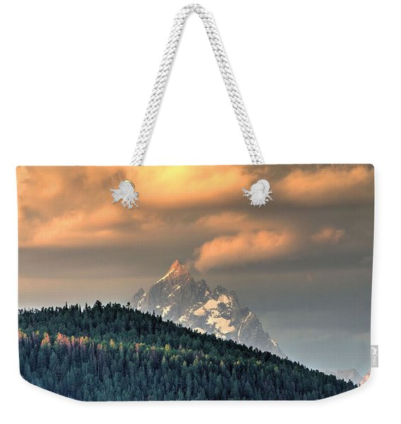 Grand Morning Weekender Tote Bag