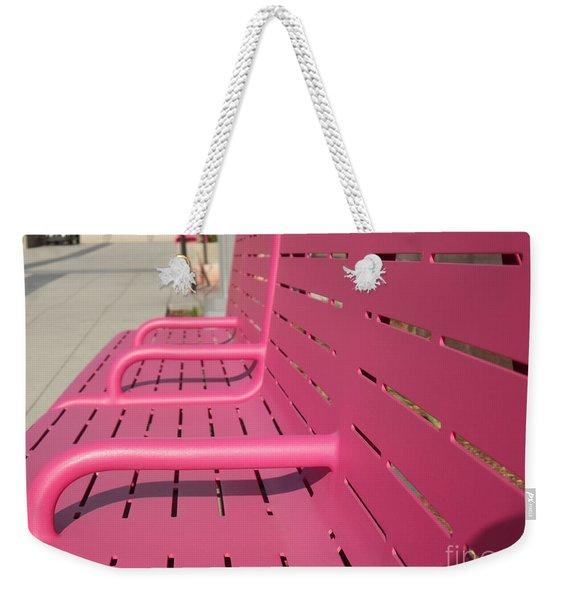 Grand Park Pink Weekender Tote Bag