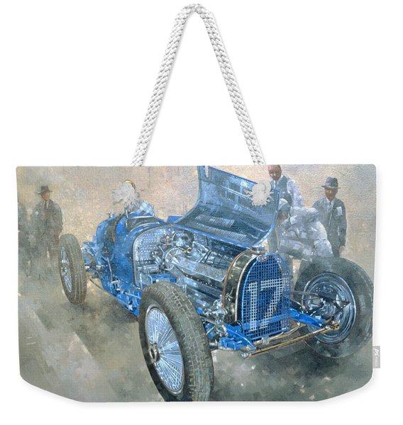 Grand Prix Bugatti Weekender Tote Bag