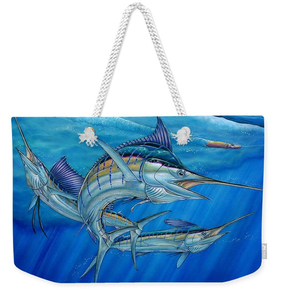 Grand Slam And Lure. Weekender Tote Bag