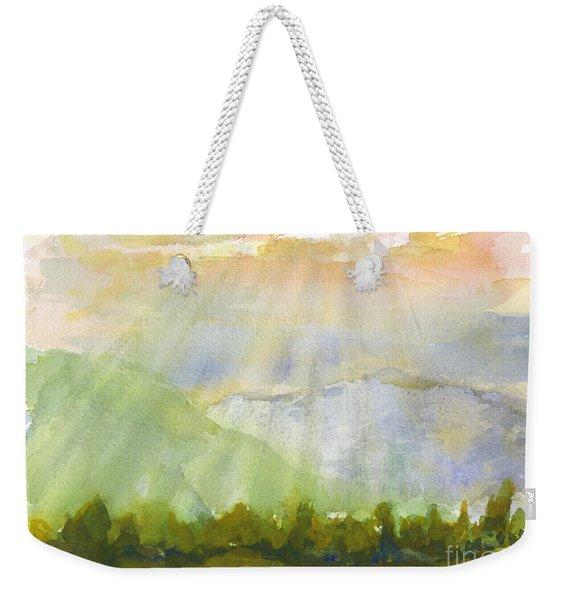 Grandma Cohen Rays Weekender Tote Bag