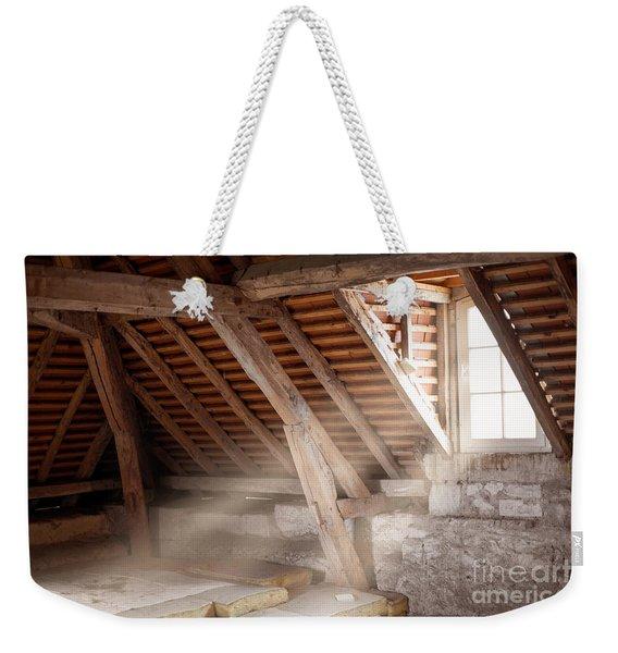 Grandpa's Attic Weekender Tote Bag